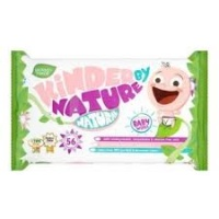 Jackson Reece Kinder By Nature Baby  Wipes 100% Biodegradable Unscented 4 Pack